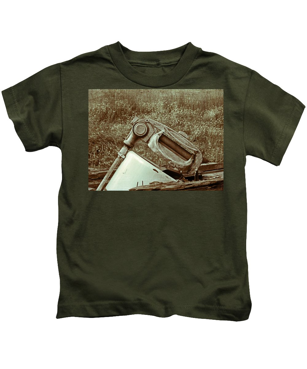 Antique Kids T-Shirt featuring the photograph Washing Day Vintage by Susan Leggett