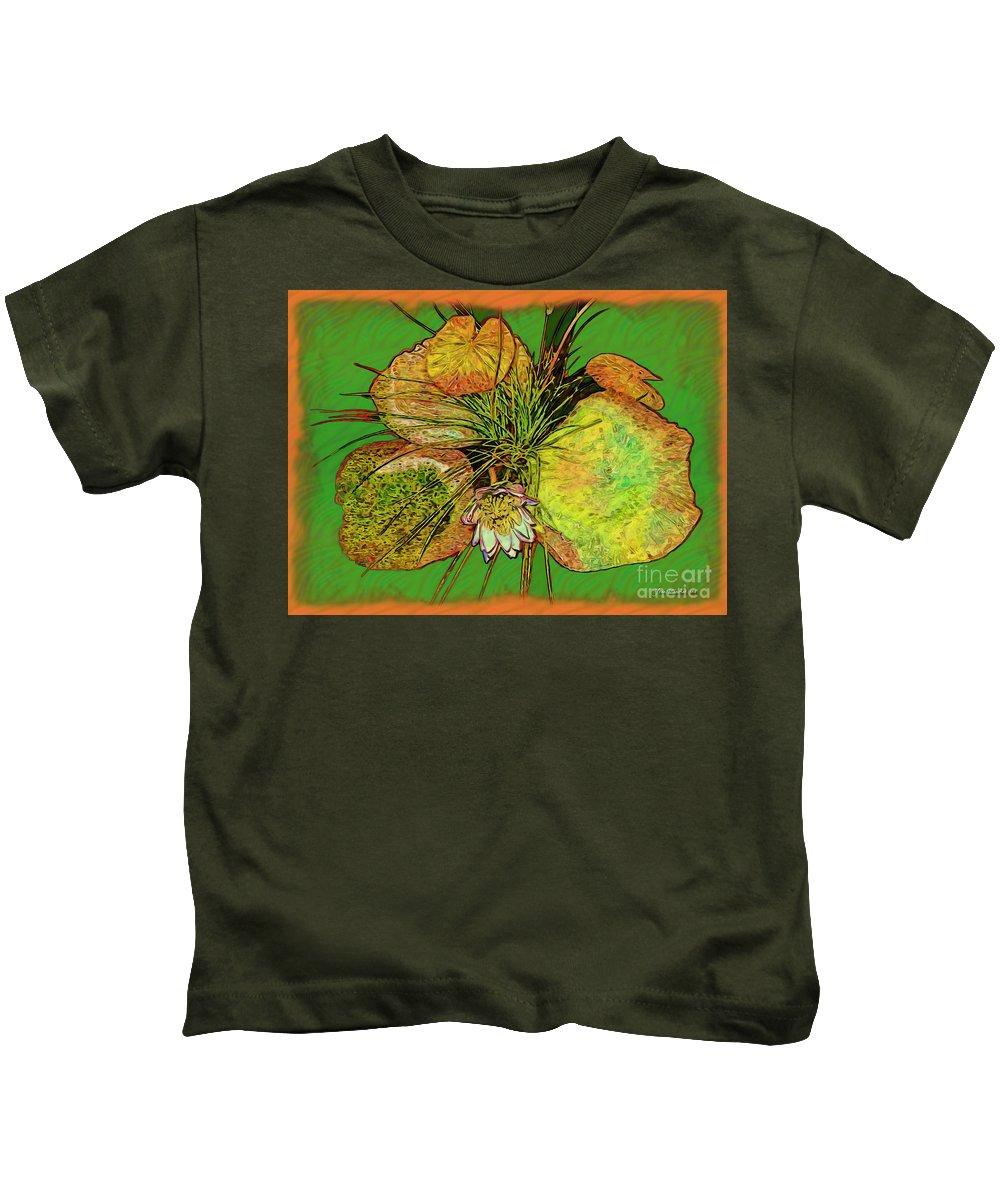 Flower Kids T-Shirt featuring the photograph Water Lilies by Joan Minchak