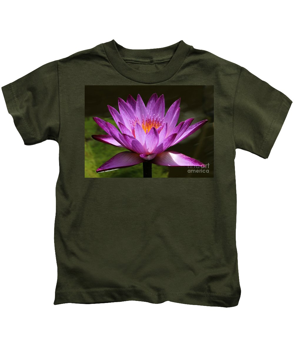 Water Lily Kids T-Shirt featuring the photograph Water Lily Blossom by Sabrina L Ryan