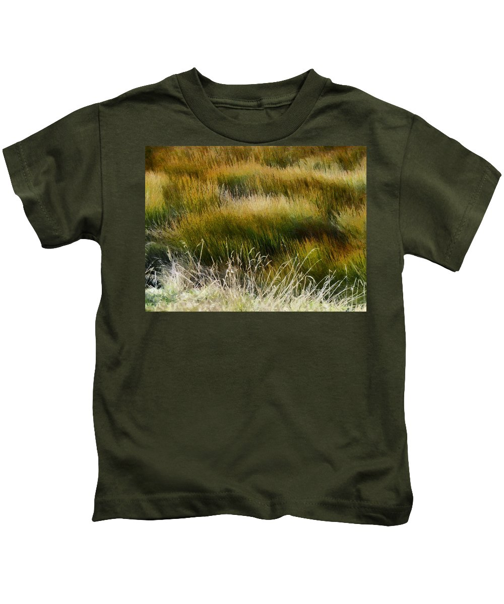 Wet And Dry Kids T-Shirt featuring the photograph Wet And Dry by Steve Taylor