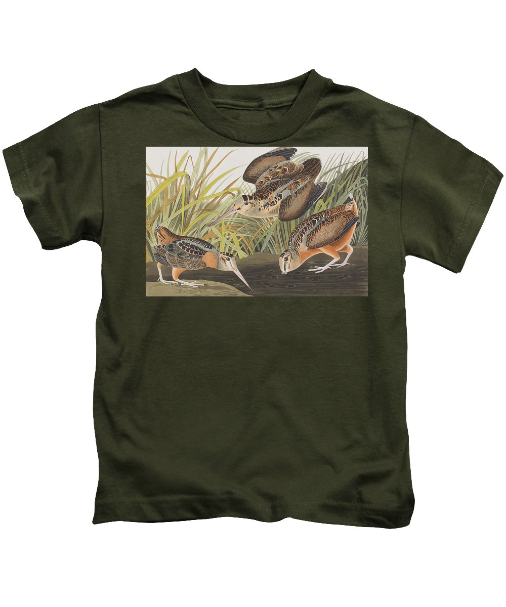 Woodcock Kids T-Shirts