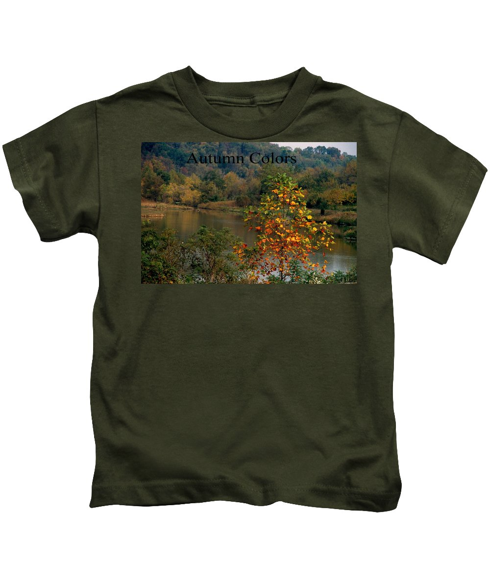 Autumn Kids T-Shirt featuring the photograph Autumn Colors by Gary Wonning