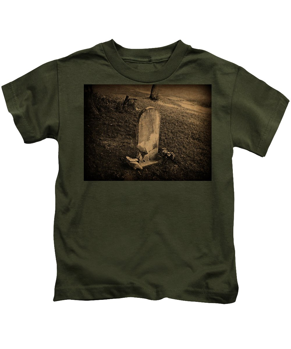 Grave Kids T-Shirt featuring the photograph Dust To Dust by Scott Ward