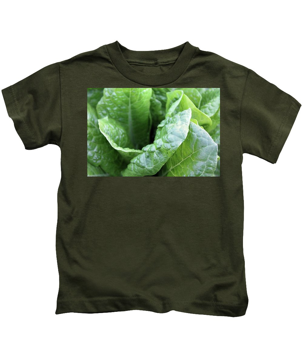 Green Kids T-Shirt featuring the photograph Green Is Life by Happy Home Artistry