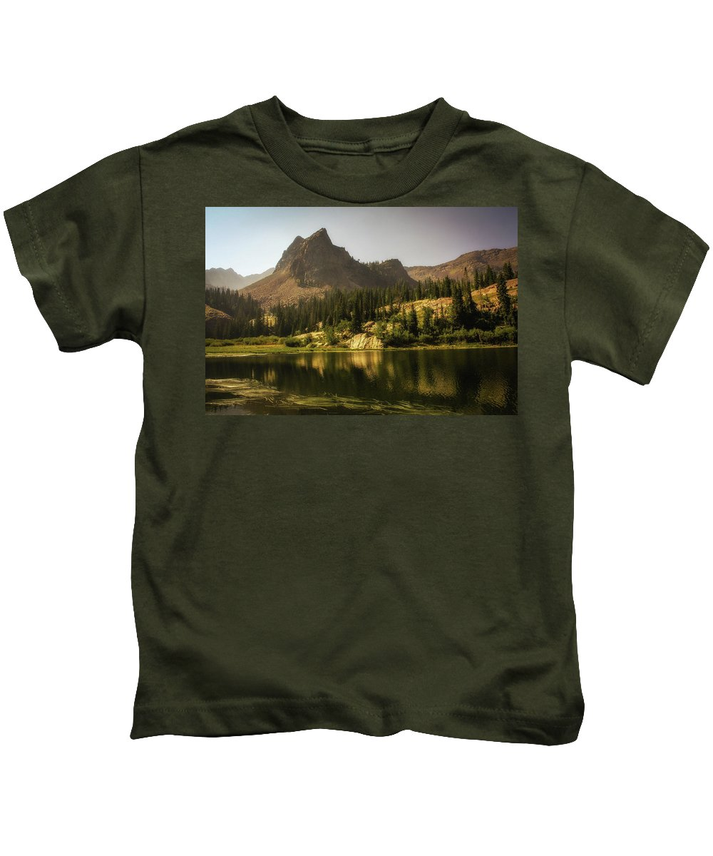 Landscape Kids T-Shirt featuring the photograph Lake Blanche by Mark Memmott