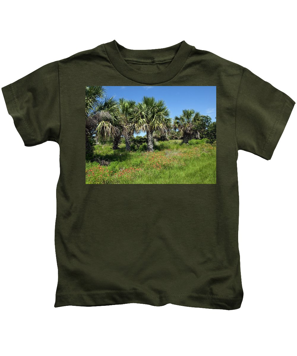 Florida Kids T-Shirt featuring the photograph Pelican Island In Florida by Allan Hughes