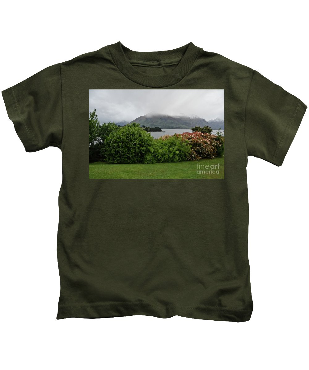 Queenstown Kids T-Shirt featuring the photograph Queenstown, New Zealand by Yurix Sardinelly