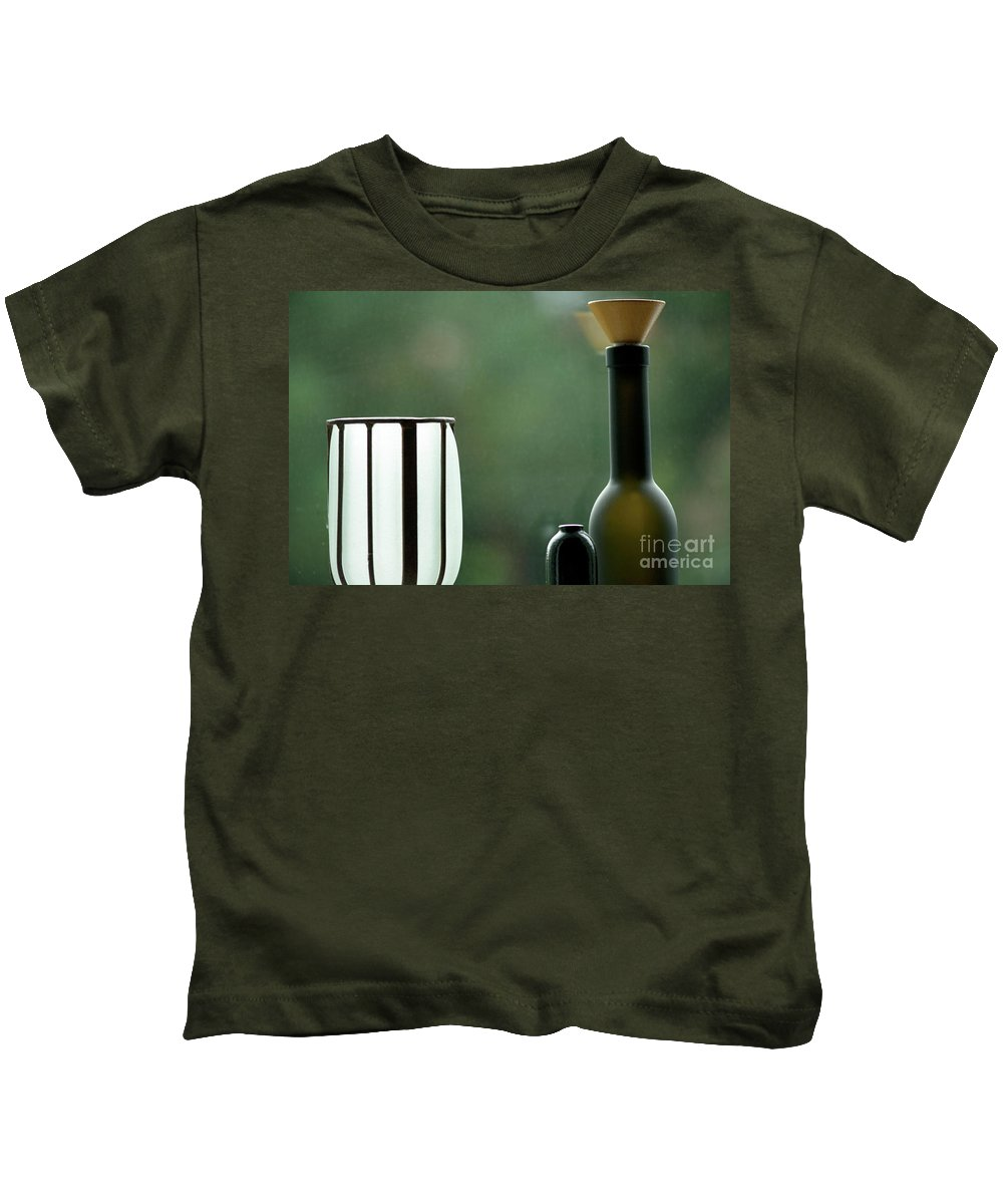 Decorative Kids T-Shirt featuring the photograph Window Sill Decoration by Heiko Koehrer-Wagner
