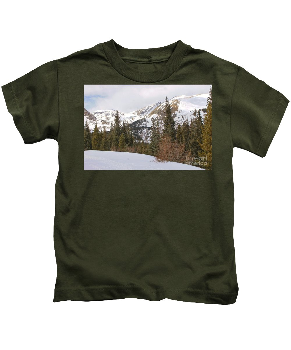 Nature Kids T-Shirt featuring the photograph Winter Peace 3 by Tonya Hance