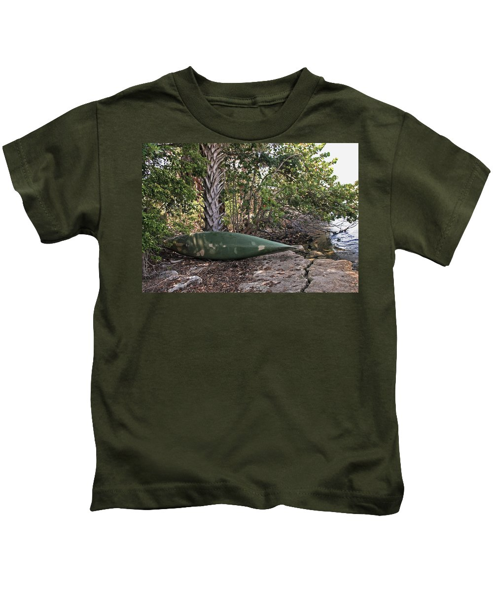 Kids T-Shirt featuring the photograph Indian River Lagoon by Allan Hughes