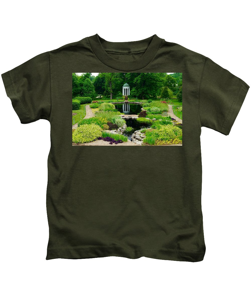 Landscapes Kids T-Shirt featuring the photograph Serenity by Linda Cupps