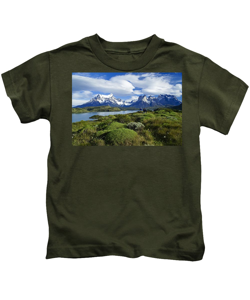 Patagonia Kids T-Shirt featuring the photograph Springtime In Patagonia by Michele Burgess