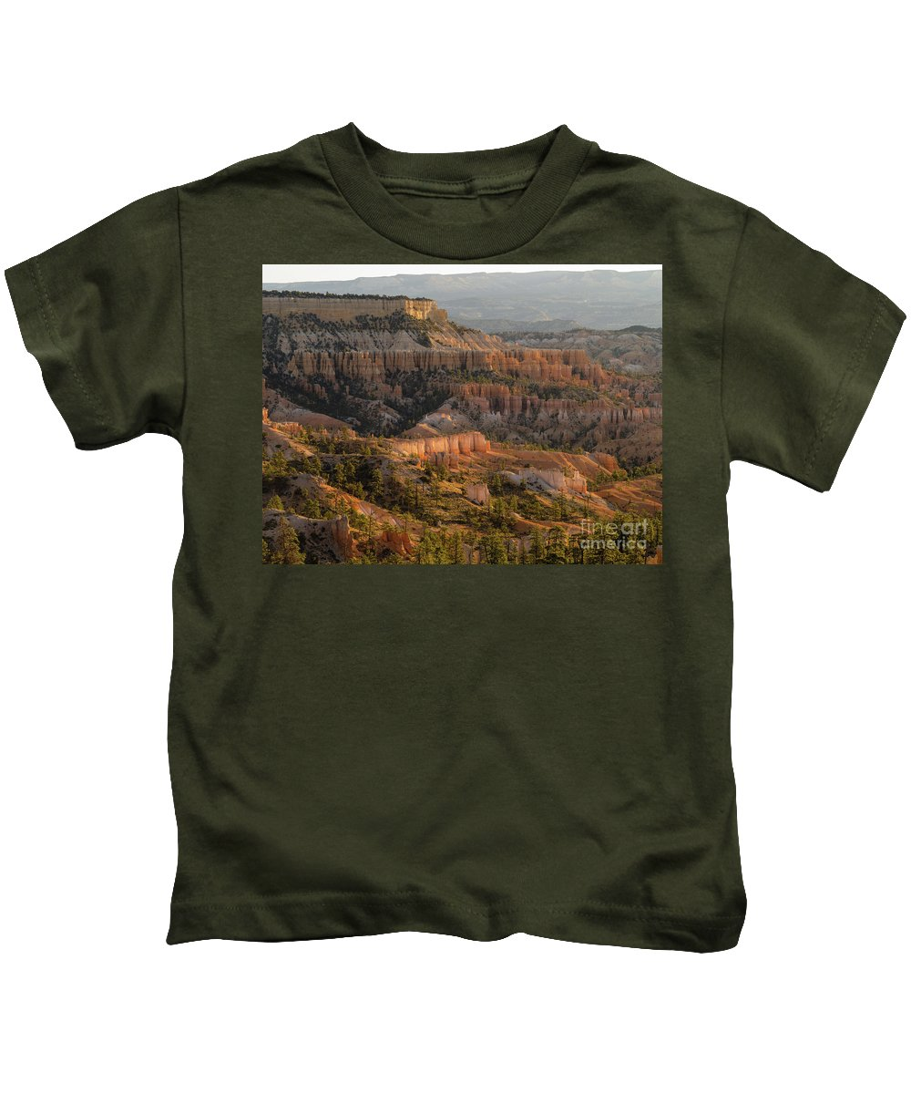 Bryce Kids T-Shirt featuring the photograph Sunrise Point by Tracy Knauer