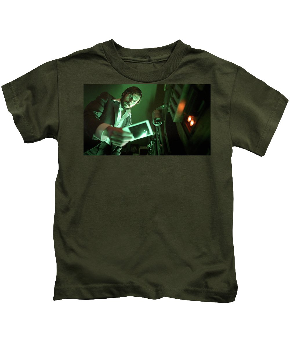 Time Lapse Kids T-Shirt featuring the digital art Time Lapse by Dorothy Binder