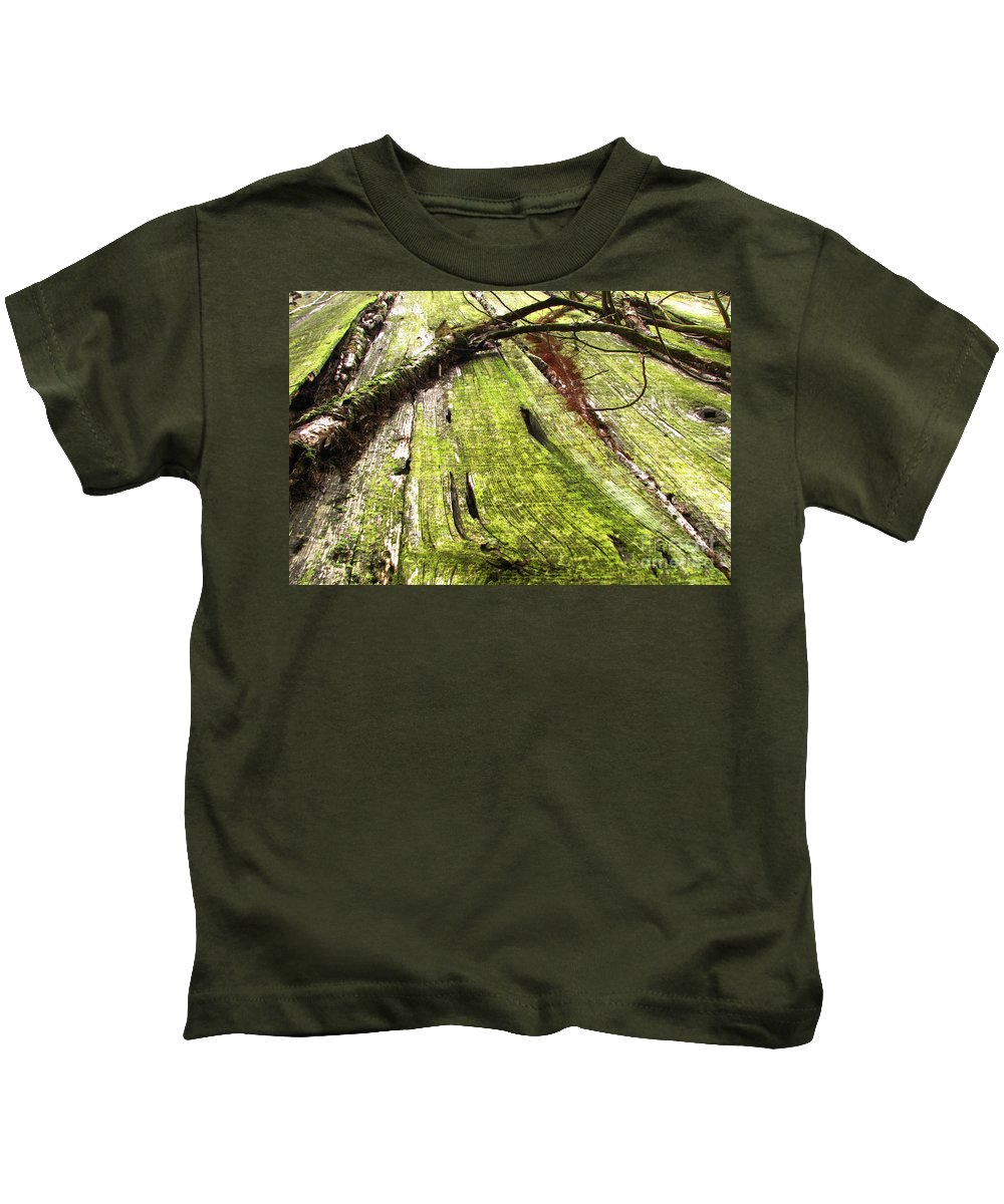 Texture Kids T-Shirt featuring the photograph Texture Series by Amanda Barcon