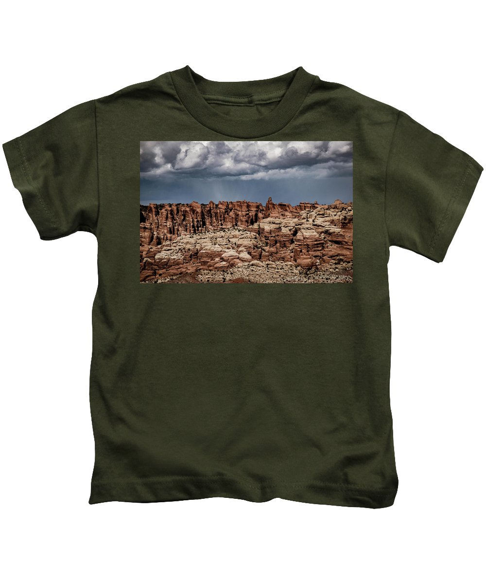 Arches National Park Kids T-Shirt featuring the photograph Arches National Park by Steven Eyre Photography