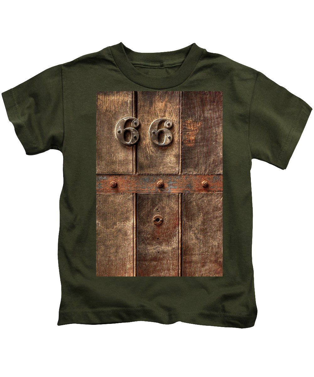 Abandoned Kids T-Shirt featuring the photograph 66... by Evelina Kremsdorf