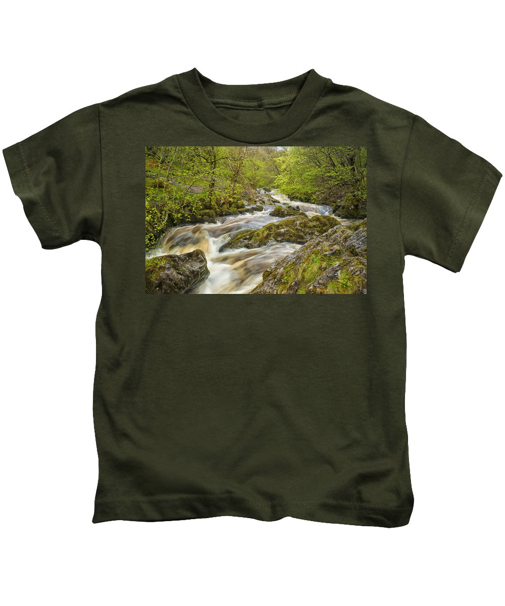 Aira Force Kids T-Shirt featuring the photograph Aira Force by Paul Cullen