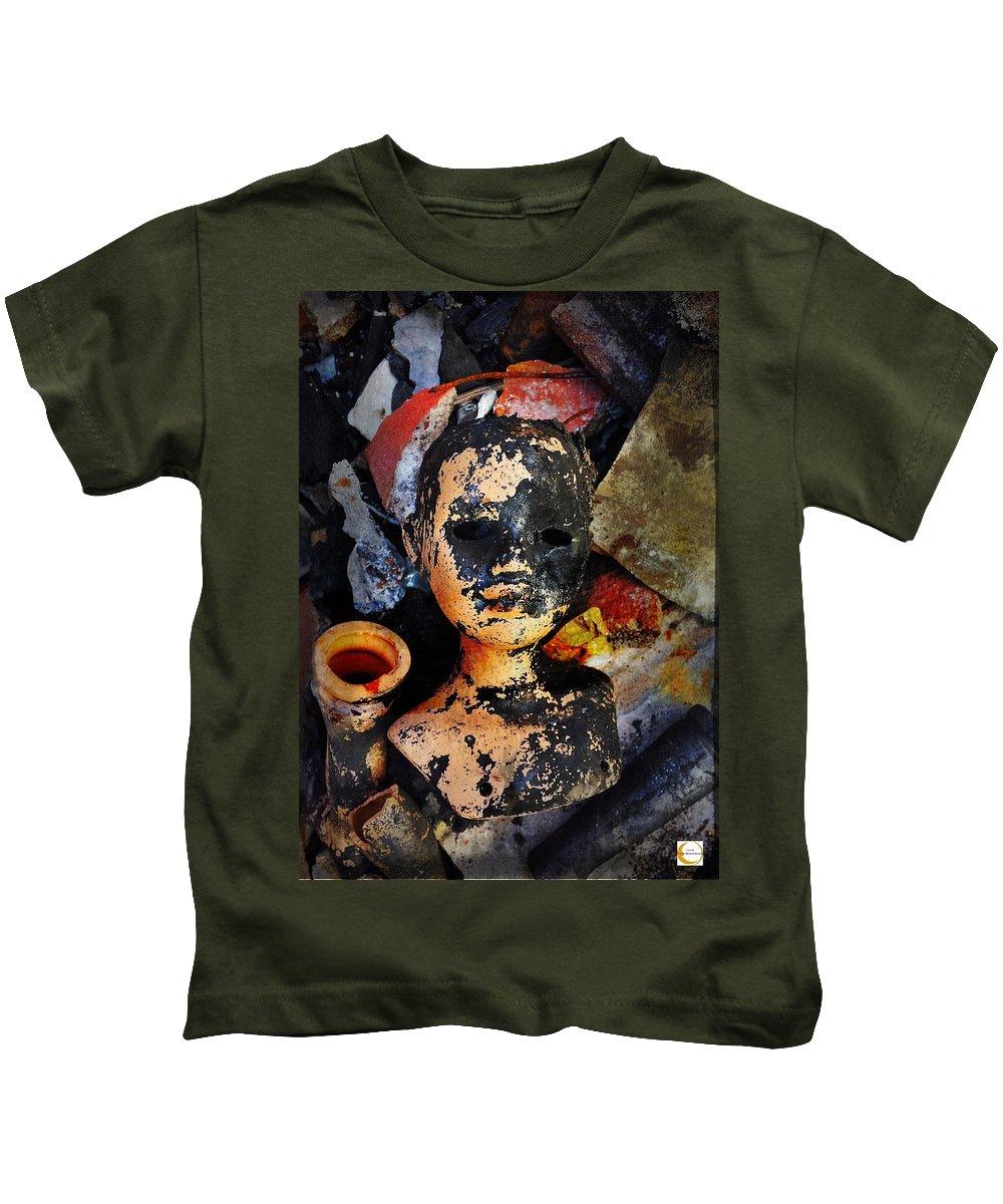 Broken Kids T-Shirt featuring the photograph #8 by Luciano Fais