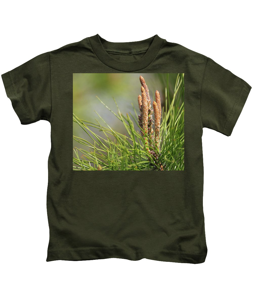 A Magical Forest Kids T-Shirt featuring the photograph A Magical Forest by Paul Ranky