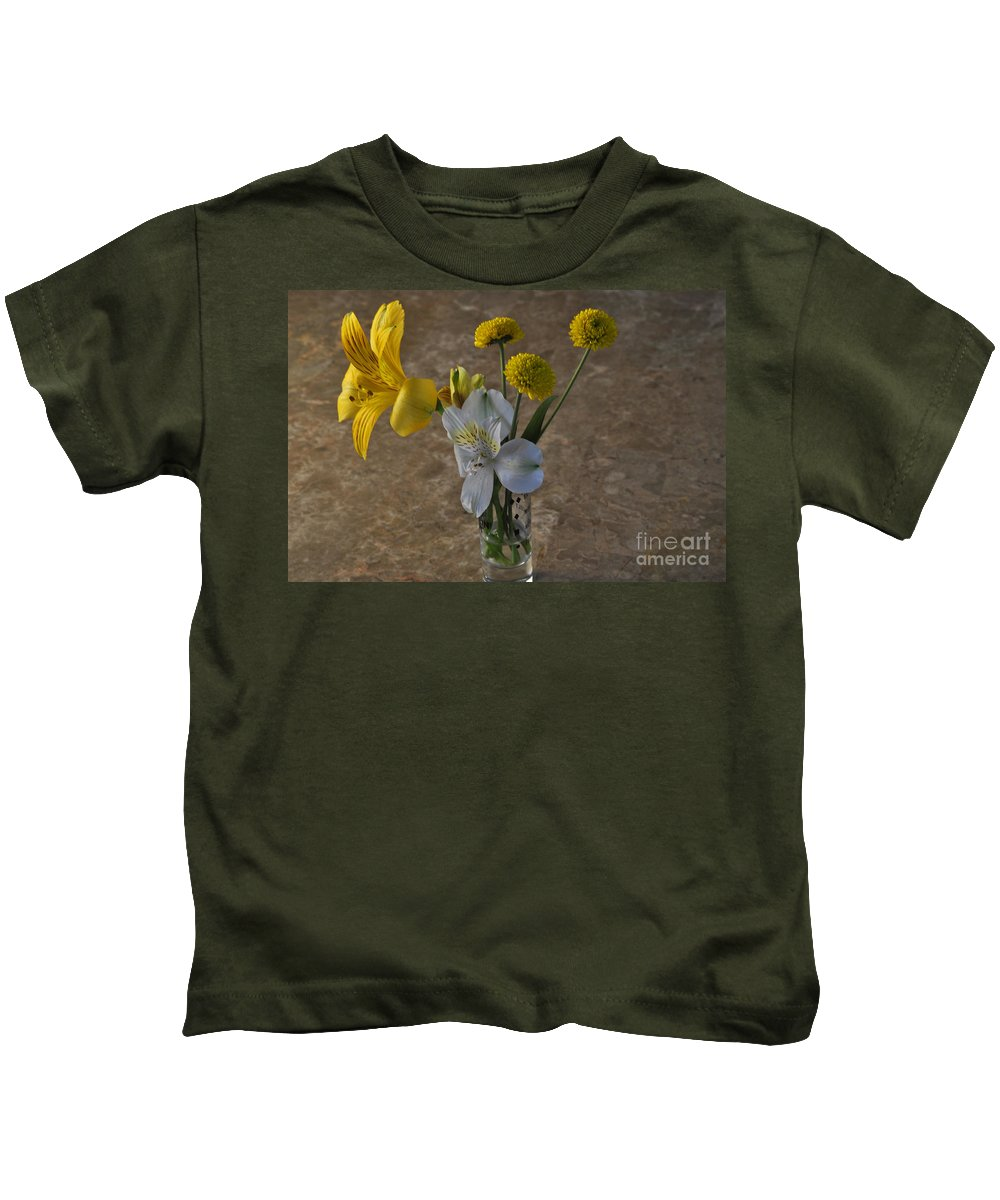 Shot Kids T-Shirt featuring the photograph A Shot Of Colors by Crystal J Harwood