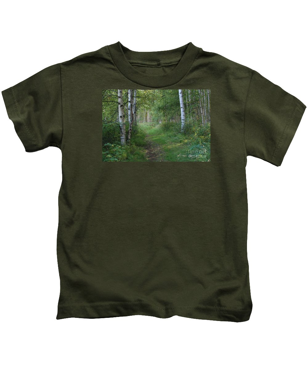 A Suspended Silence Kids T-Shirt featuring the photograph A Suspended Silence Where The Wild Things Are by Sharon Mau