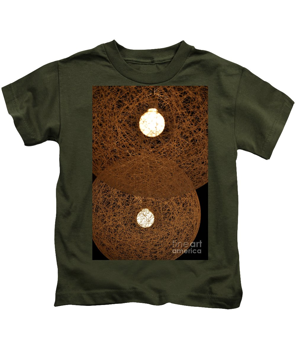 Clay Kids T-Shirt featuring the photograph A Web Of Photons by Clayton Bruster