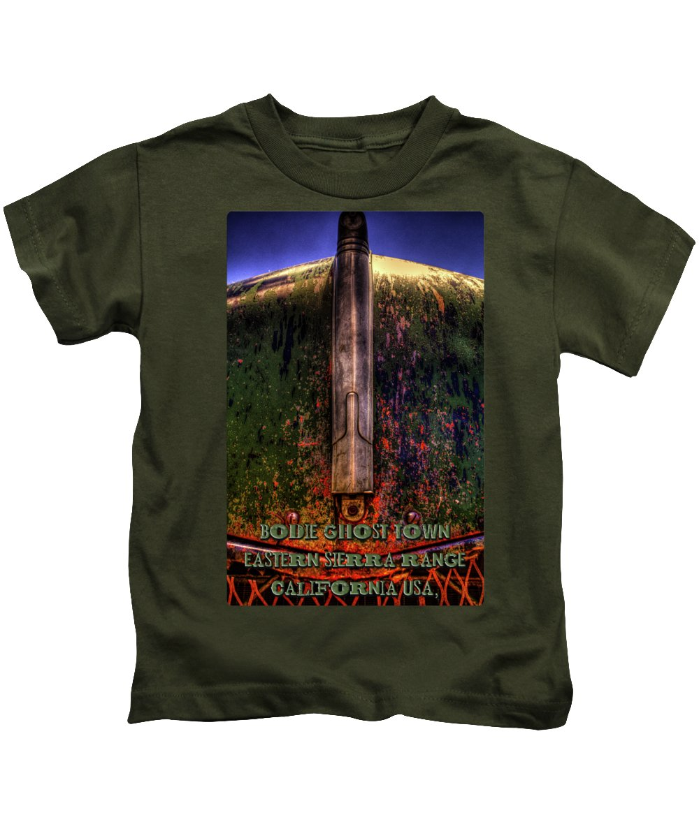 Bodie Ghost Town Kids T-Shirts