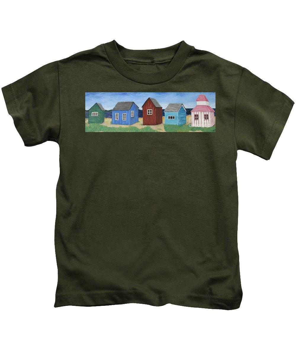 Beach Kids T-Shirt featuring the photograph Aero, Denmark by Karen Desrosiers