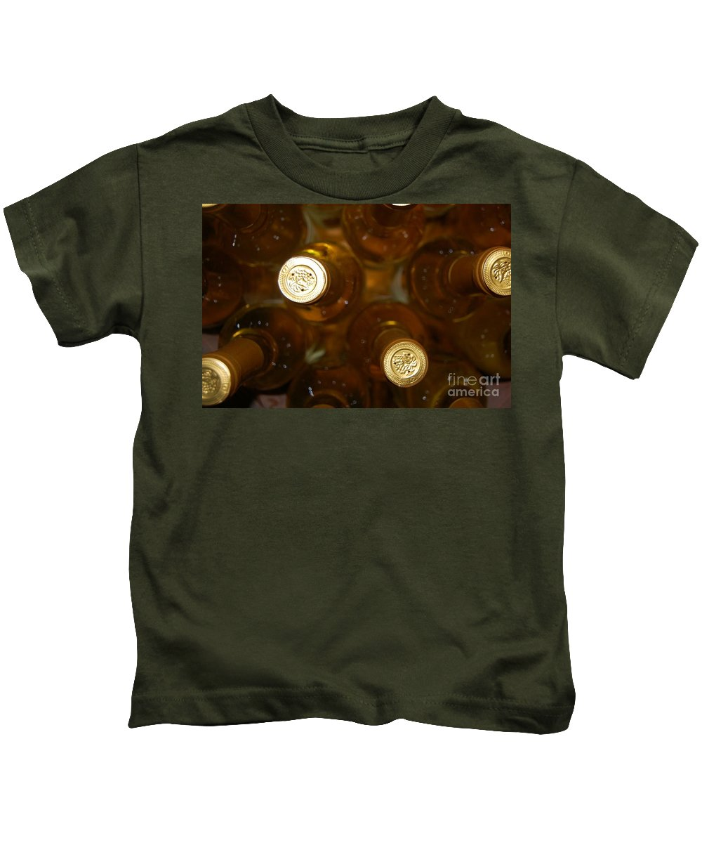 Wine Kids T-Shirt featuring the photograph Aged Well by Debbi Granruth