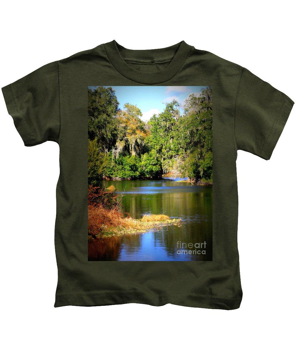 Alafia River Kids T-Shirt featuring the photograph Alafia River by Carol Groenen