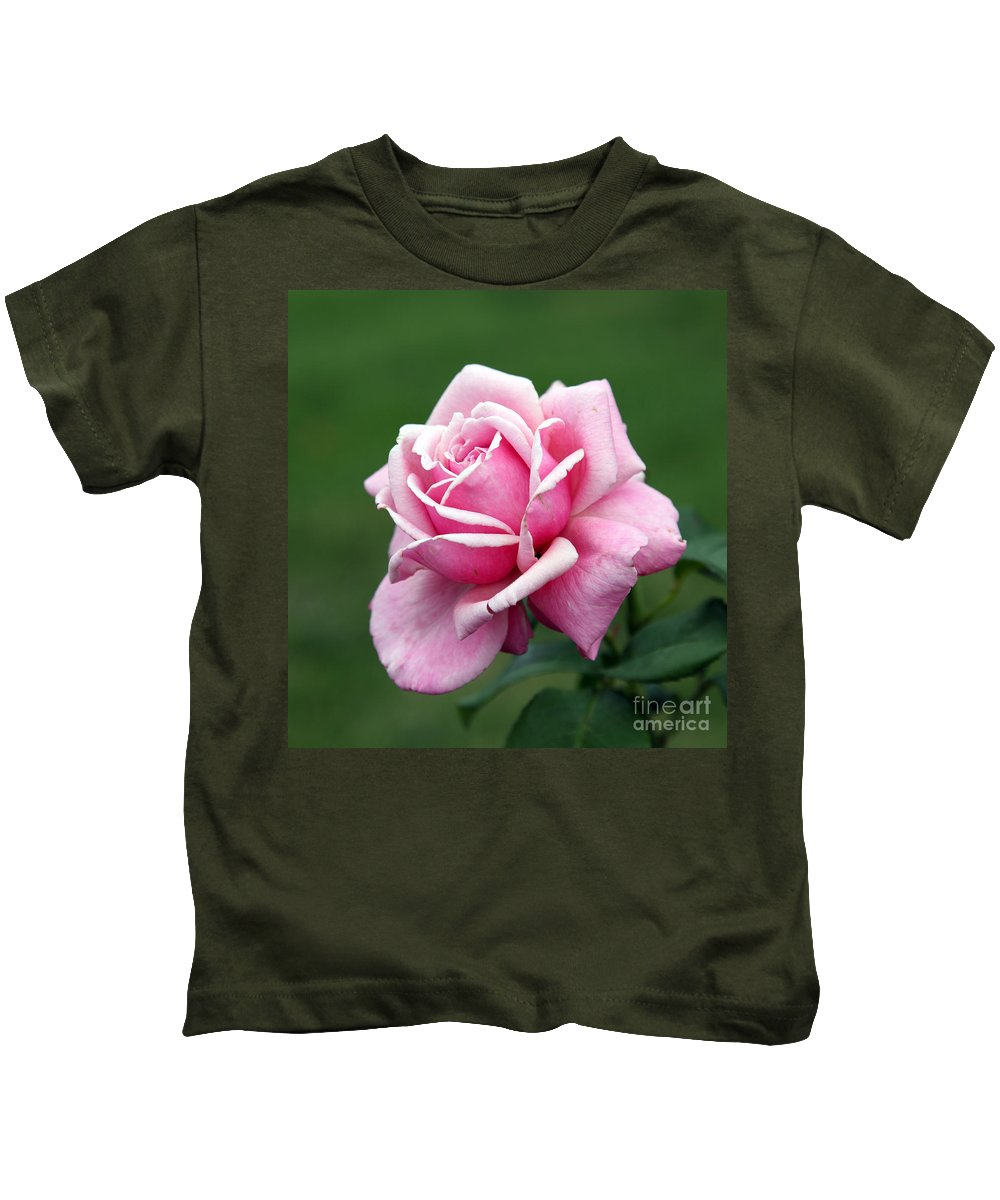 Rose Kids T-Shirt featuring the photograph Alone Time by Amanda Barcon