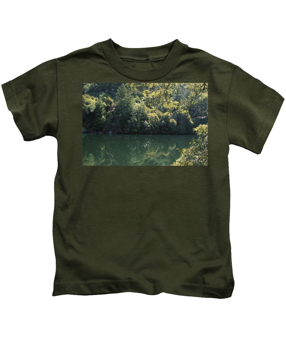 Alpine Lake Kids T-Shirt featuring the photograph Alpine Lake by Soli Deo Gloria Wilderness And Wildlife Photography