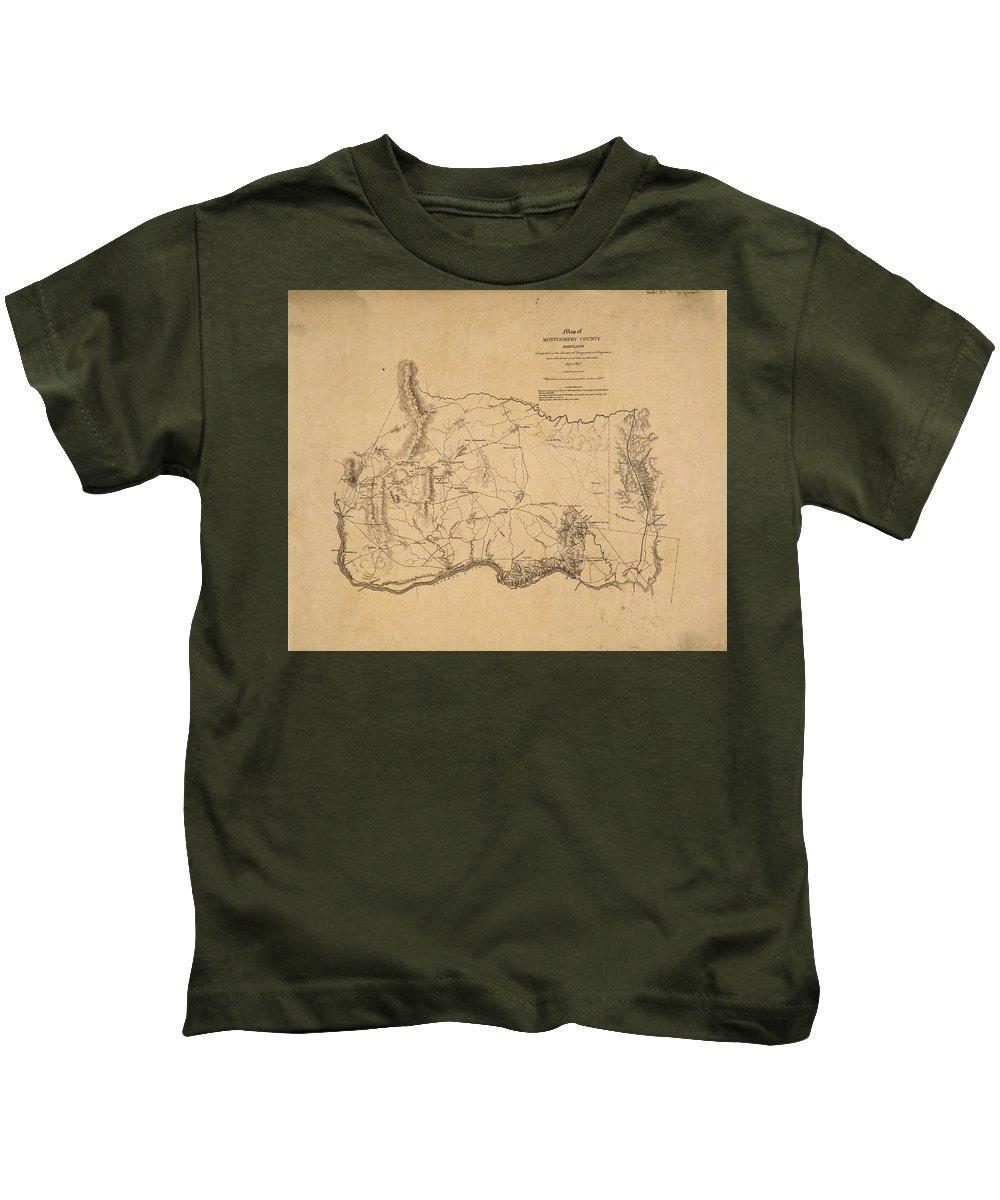 Montgomery County Maryland Kids T-Shirts