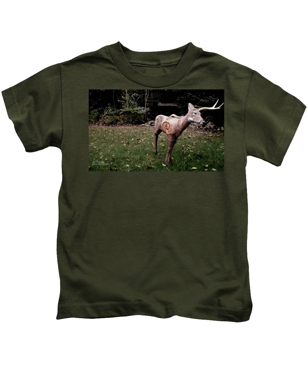 Kids T-Shirt featuring the photograph Archery Season by Jessie Henry