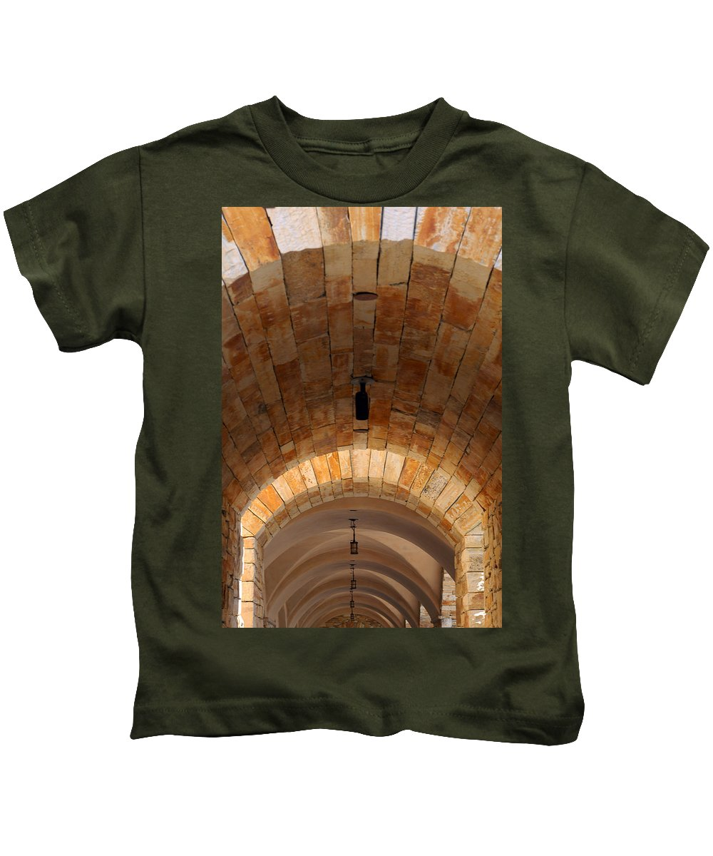 Architecture Kids T-Shirt featuring the photograph Archway by Jill Reger