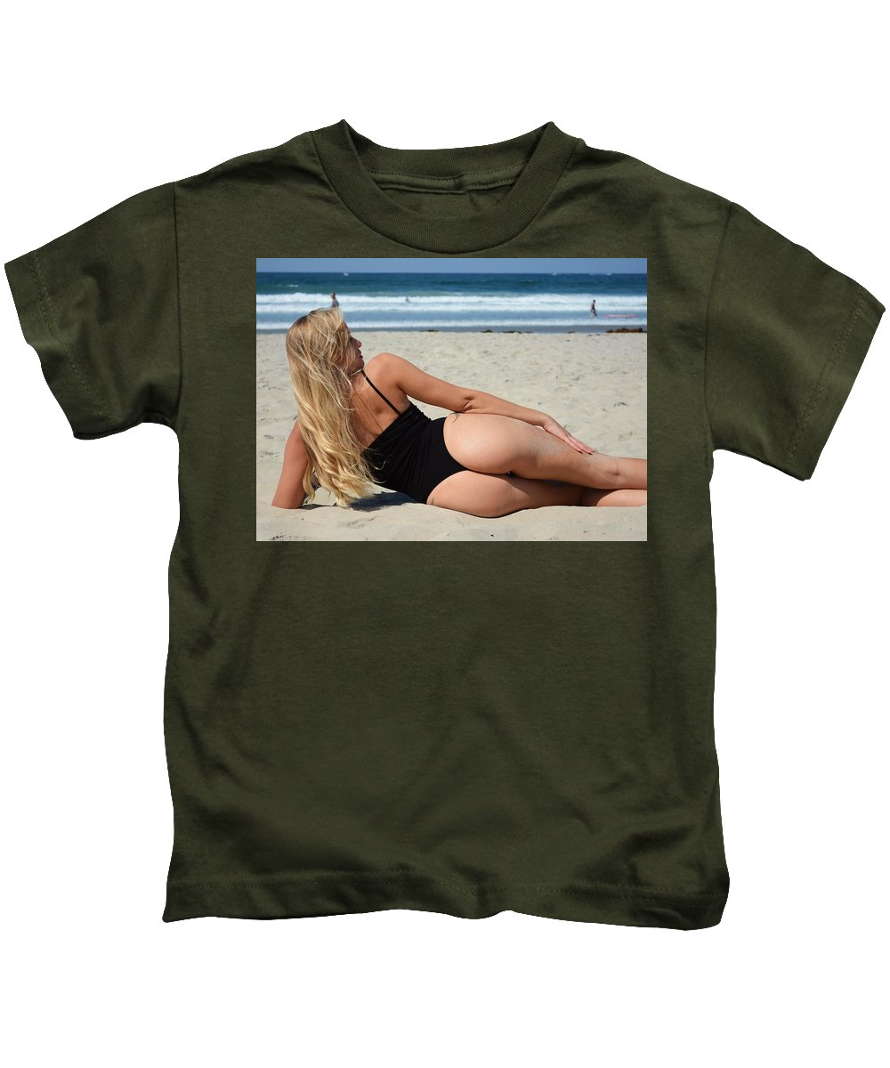 Fashion Kids T-Shirt featuring the photograph Ash321 by Remegio Dalisay