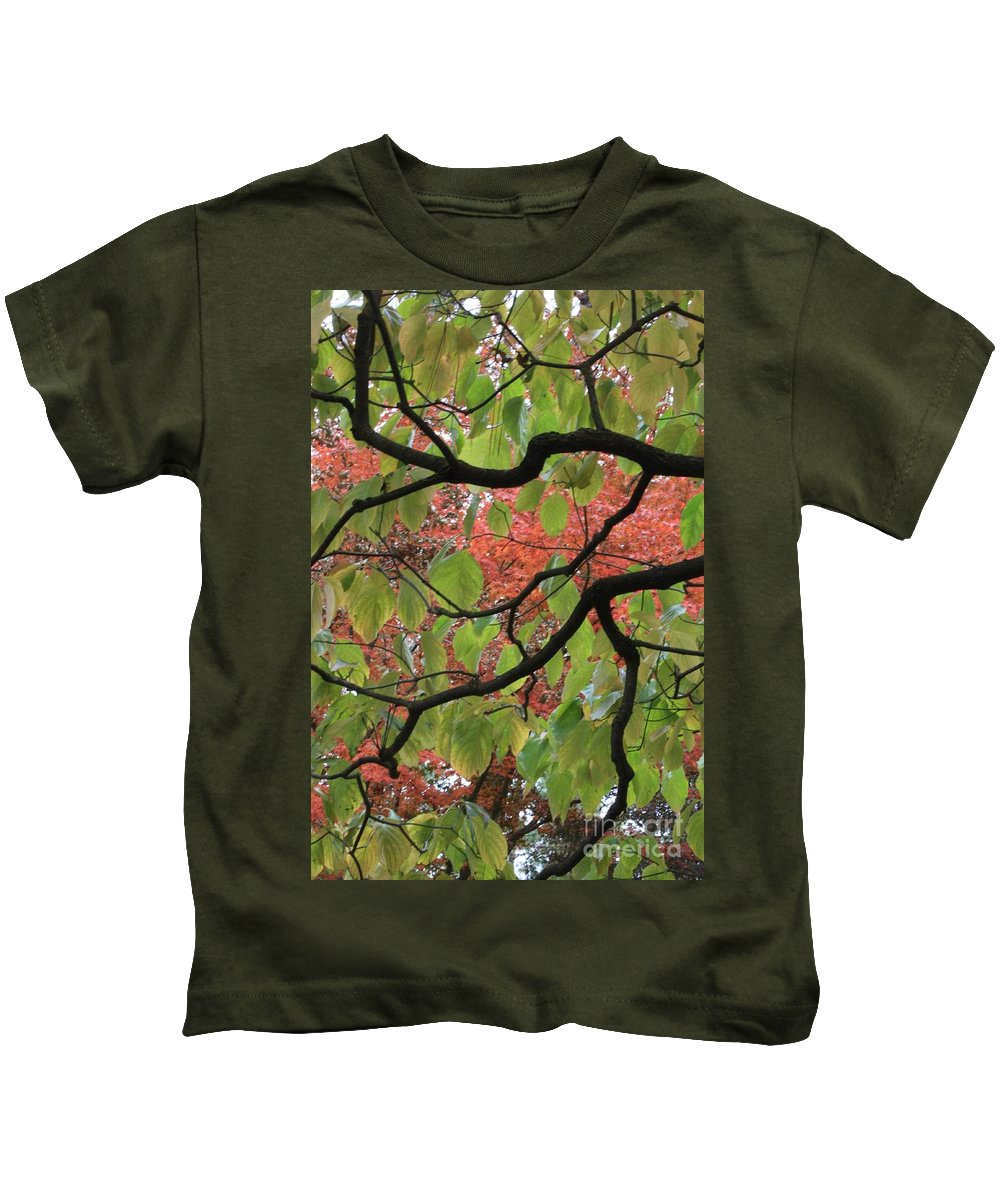 Fall Kids T-Shirt featuring the photograph Autumn 7 by Carol Groenen