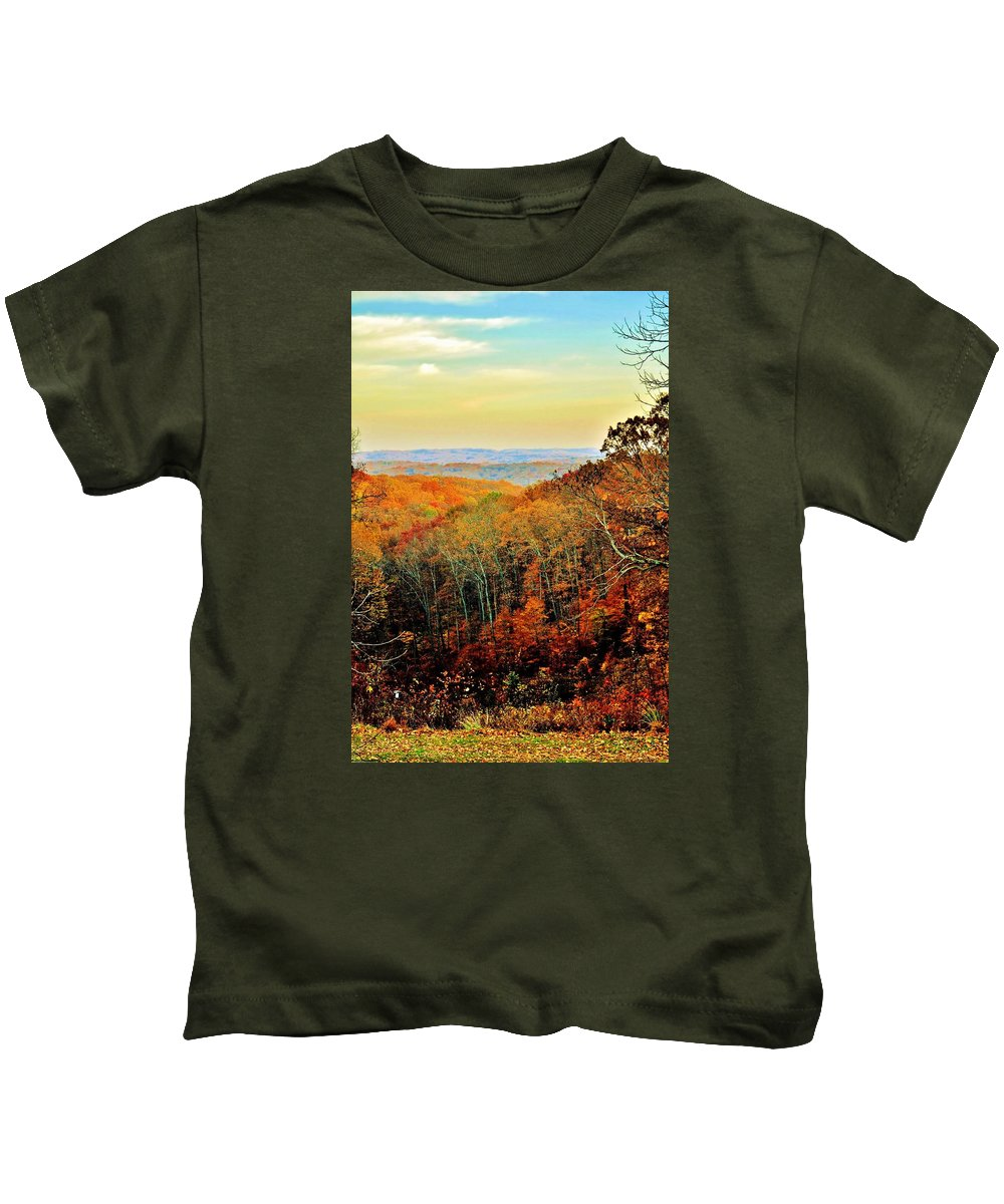 Fall Kids T-Shirt featuring the photograph Autumn Glory by Michelle McPhillips