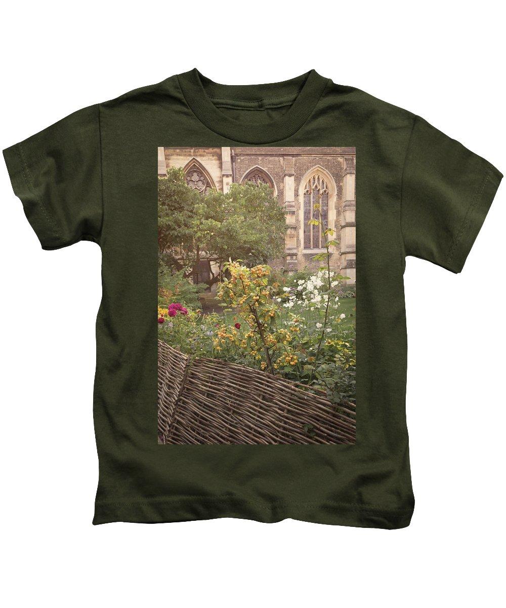 Cambridge Kids T-Shirt featuring the photograph Autumn Haze by Monika Tymanowska