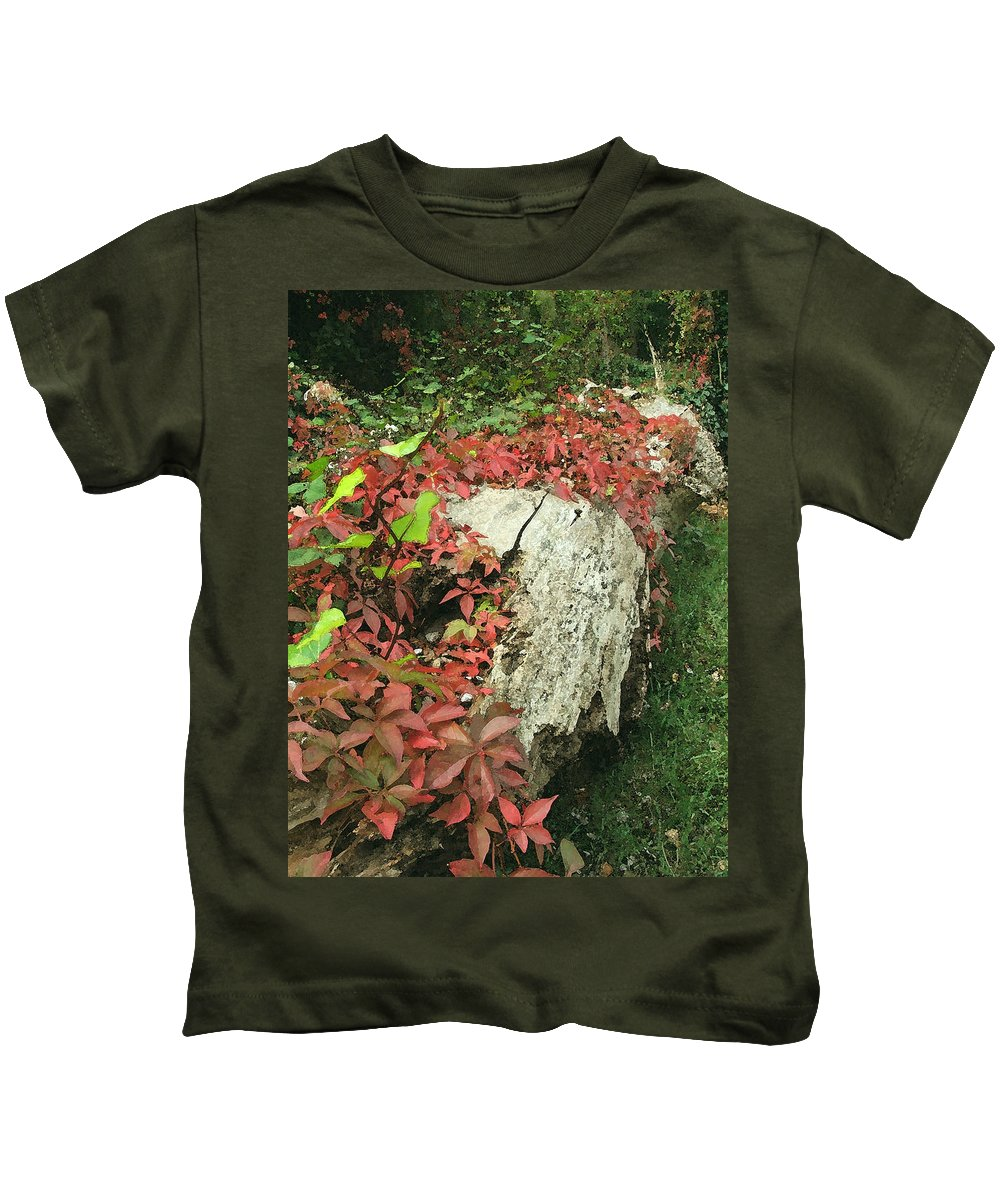 Hampstead Kids T-Shirt featuring the photograph Autumn In Hampstead by Heather Lennox