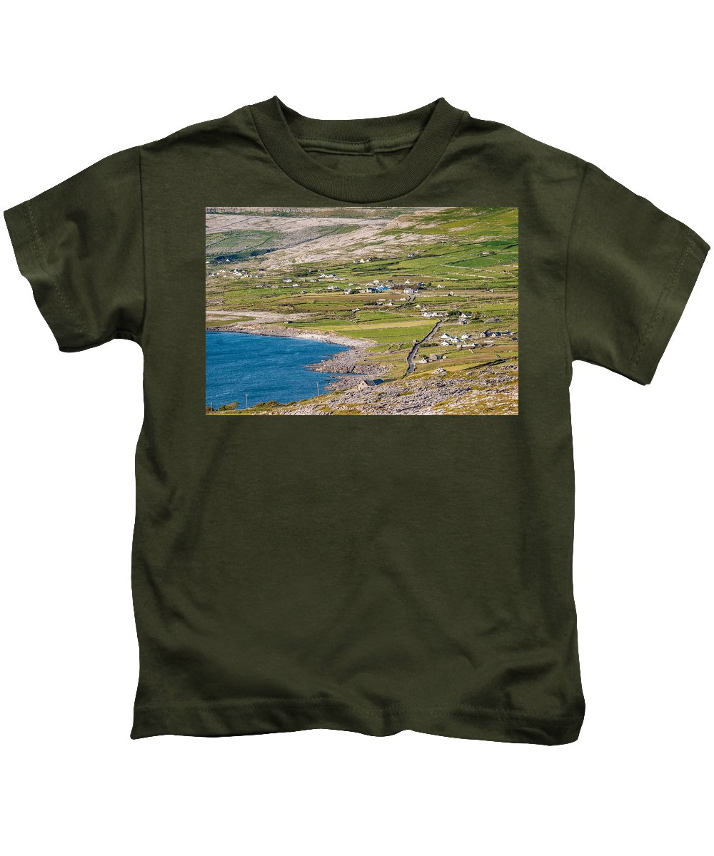 Ireland Kids T-Shirt featuring the photograph Ballyvaughan Ireland by Pierre Leclerc Photography