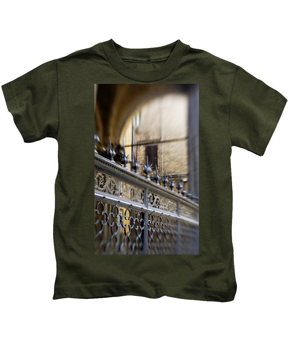 Beautiful Kids T-Shirt featuring the photograph Barriers And Openings by Marilyn Hunt