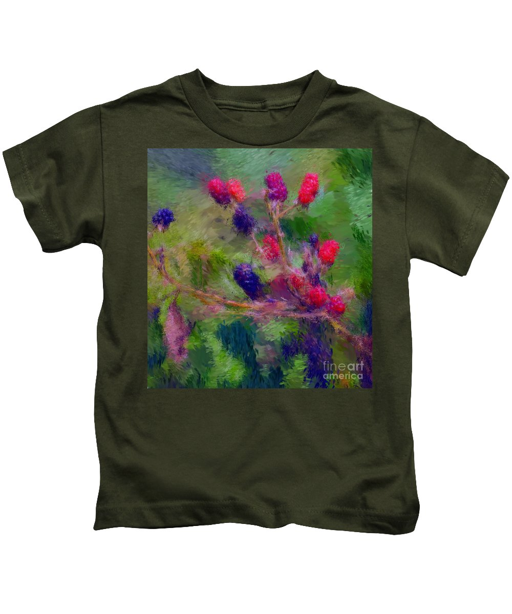 Nature Kids T-Shirt featuring the photograph Bear Fodder by David Lane