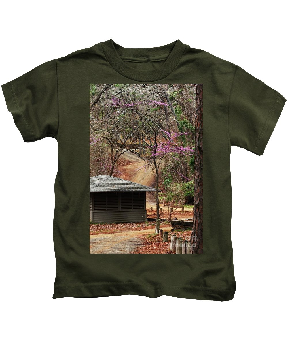 Nature Photograph Kids T-Shirt featuring the photograph Beautiful Escape by Kim Henderson