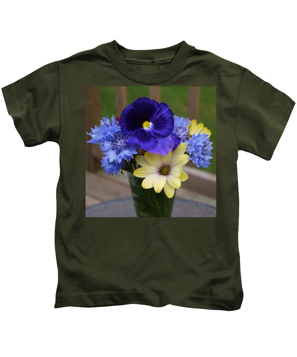 Flowers Kids T-Shirt featuring the photograph Beautiful by Nancie DeMellia