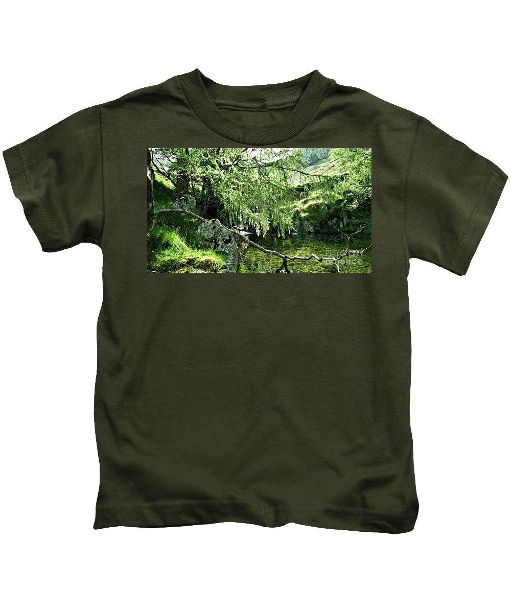 Nature Kids T-Shirt featuring the photograph Beautiful Nature by LDS Dya