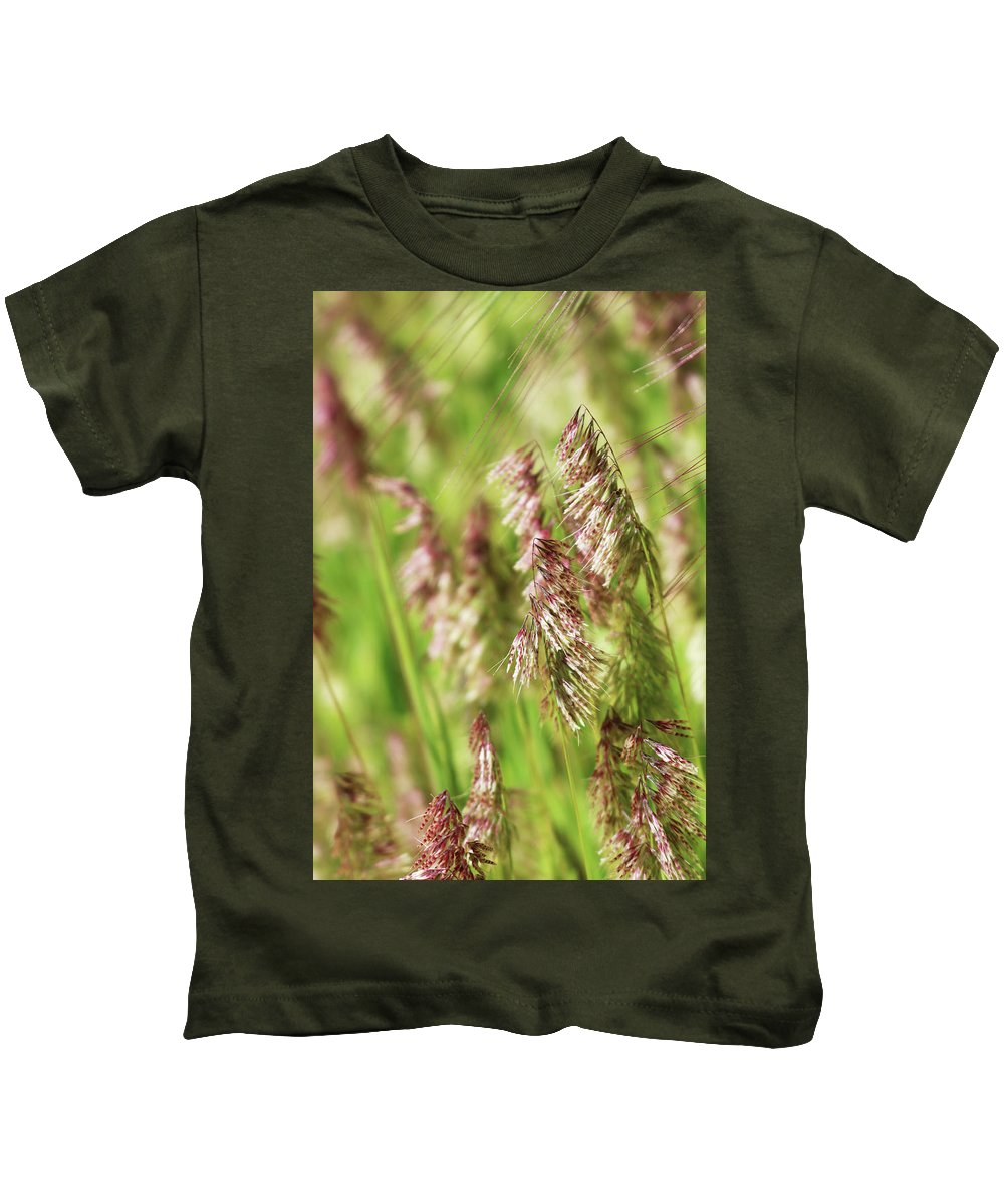 Wildflowers Kids T-Shirt featuring the photograph Beautiful Weeds by Erin Donalson