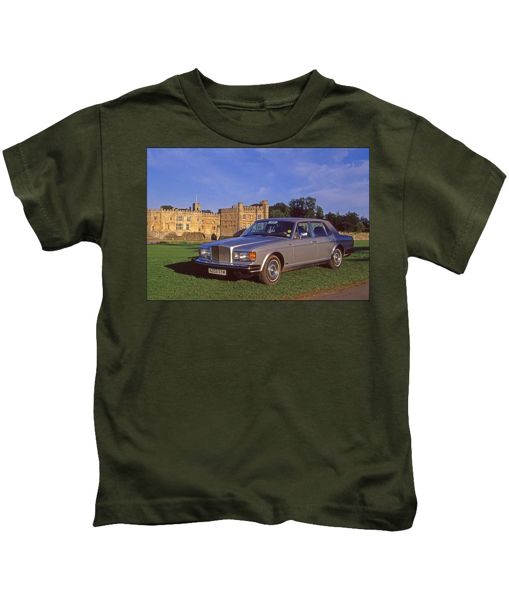 Automobile Kids T-Shirt featuring the photograph Bentley Automobile by Joe Rooney