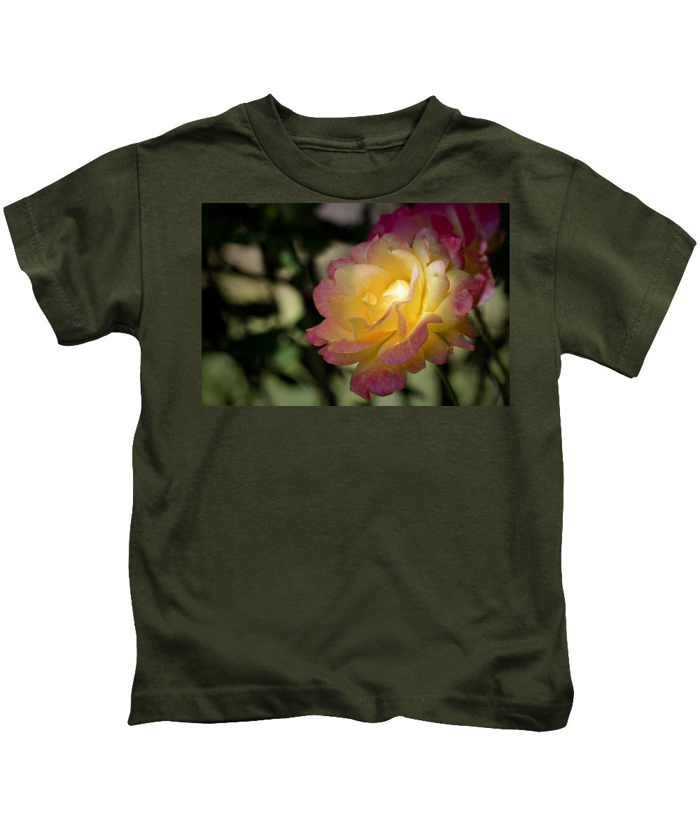 Rose Kids T-Shirt featuring the photograph Bettys Rose by Teresa Mucha